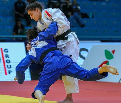 Grand Prix d'Agadir 2018 – J1 : le bronze pour Daniel Jean et Sarah Harachi