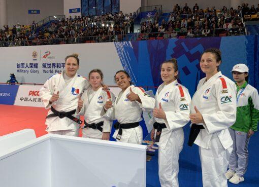 L'équipe de France militaires décroche deux nouvelles médailles
