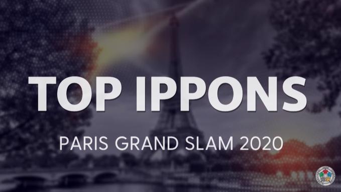 Grand Chelem de Paris 2020 – Le Top 5 Ippons