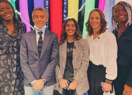 Shirine Boukli, Margaux Pinot, Madeleine Malonga et Romane Dicko invitées de l'émission Quotidien