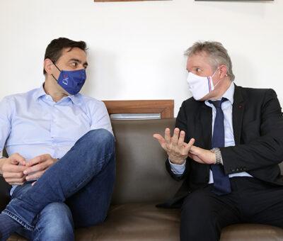 Stéphane Nomis soutient Thierry Rey pour la présidence du CNOSF