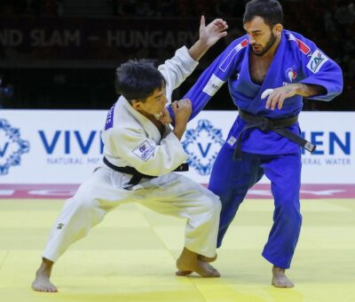 Grand Chelem de Tashkent 2021 – J1 : Mkheidze pour le bronze, Receveaux septième