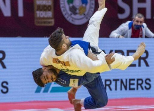 Grand Chelem de Tashkent 2021 – J2 : Chaine au pied du podium